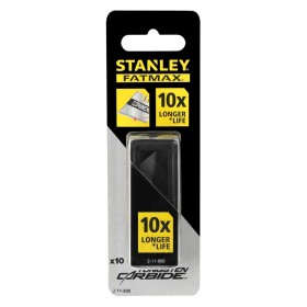 "Lame Stanley 2-11-800 trapezoidale ""Carbide"" cu carbura tungsten 10 buc"