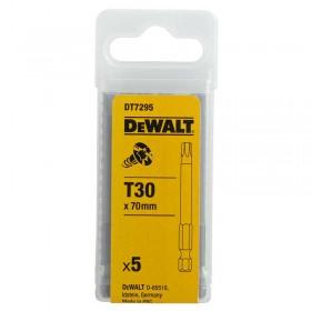 Set 5 biti DeWALT DT7295Torx 70mm T30