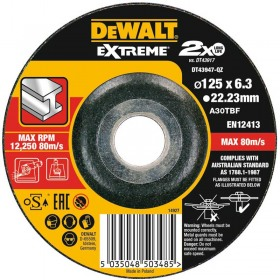 Disc DeWALT DT43947 Extreme polizare 125x6x22.23mm
