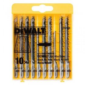 Set 10 lame DeWALT DT2290 diferite pentru lemn