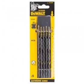 Set 5 lame DeWALT DT2201 speciale pendular pentru materiale moi