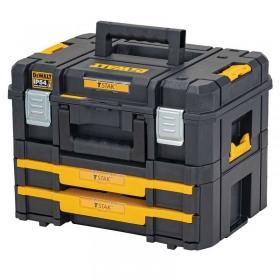 Set cutii DeWALT DWST83395-1 TSTAK 30Kg + 7.5Kg
