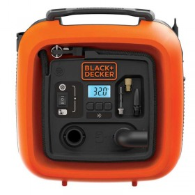Compresor auto Black+Decker ASI400 11Bar AC/DC 230V/12V
