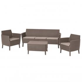 Set mobilier gradina cappuccino Keter Salemo