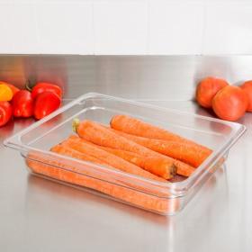 Container alimente fara capac policarbonat Cambro GN 1/2 Camwear 6.5 cm