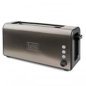 Prajitor de paine inox 7 trepte Black+Decker 1000 W