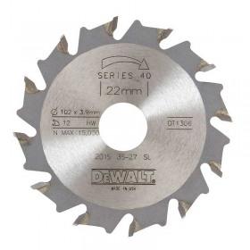 Disc DeWALT DT1307 masina imbinat biscuiti 105x22mm 30Z pozitiv ATB