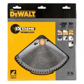 Disc DeWALT DT4280 pentru stationar 260x30mm 80Z Seria 40 TCG