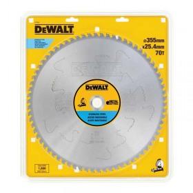 Disc DeWALT DT1921 pentru taiat metal 355x25,4mm 70Z