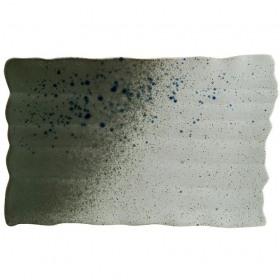 Platou rectangular portelan Bonna Gaia 34.5 x 21 cm