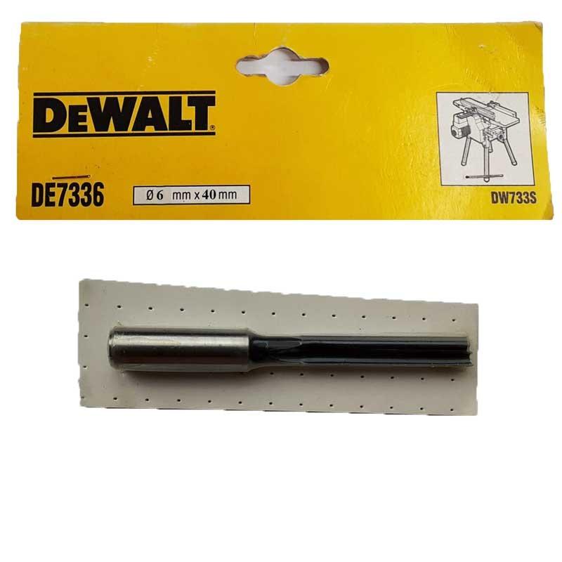 Freza deget DeWALT DE7336 pentru D27300 6x40mm