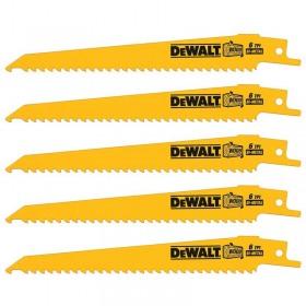 Set 5 lame fierastrau orizontal DeWALT DT2359 cobalt pentru lemn