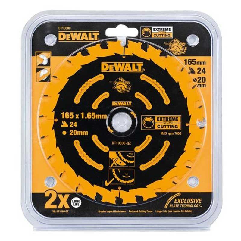 Disc DeWALT DT10300 Extreme 165x20mm 24Z