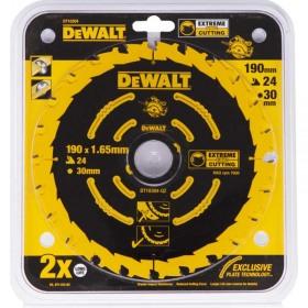 Disc DeWALT DT10304 pentru lemn 24dinti 190x1.65x30mm Corded Extreme -