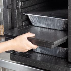 Bariera termica neagra Cambro 53 x 32.7 x 37 cm EPP300 EPP400