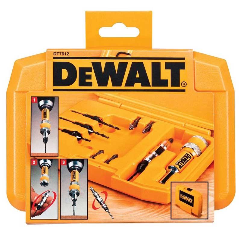Set 12 accesorii DeWALT DT7612 insurubare/gaurire