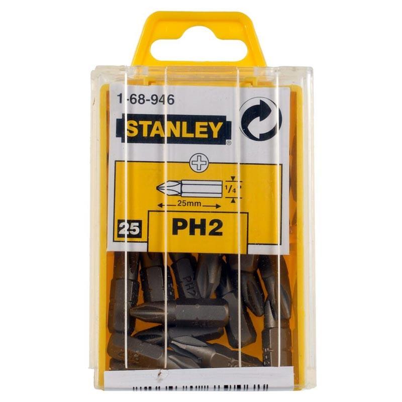 Varfuri surubelnita Stanley 1-68-946 PH2x25mm 25 buc