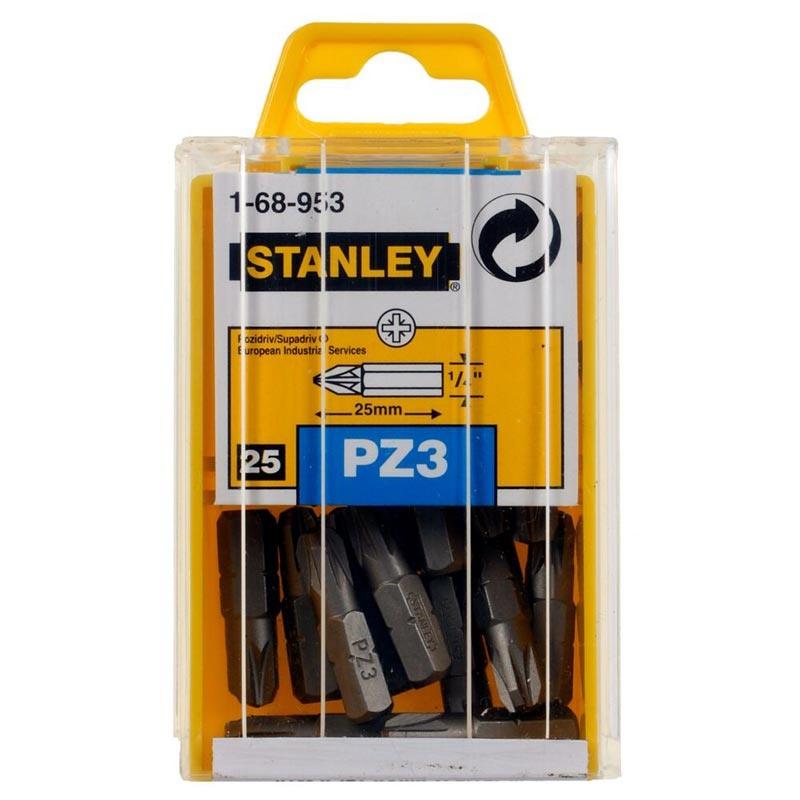 Varfuri Stanley 1-68-953 surubelnita PZ3x25mm 25 buc