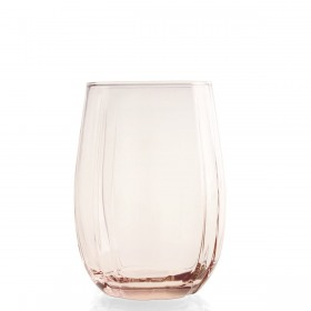 Set 3 pahare roz Pasabahce Linka 380 ml