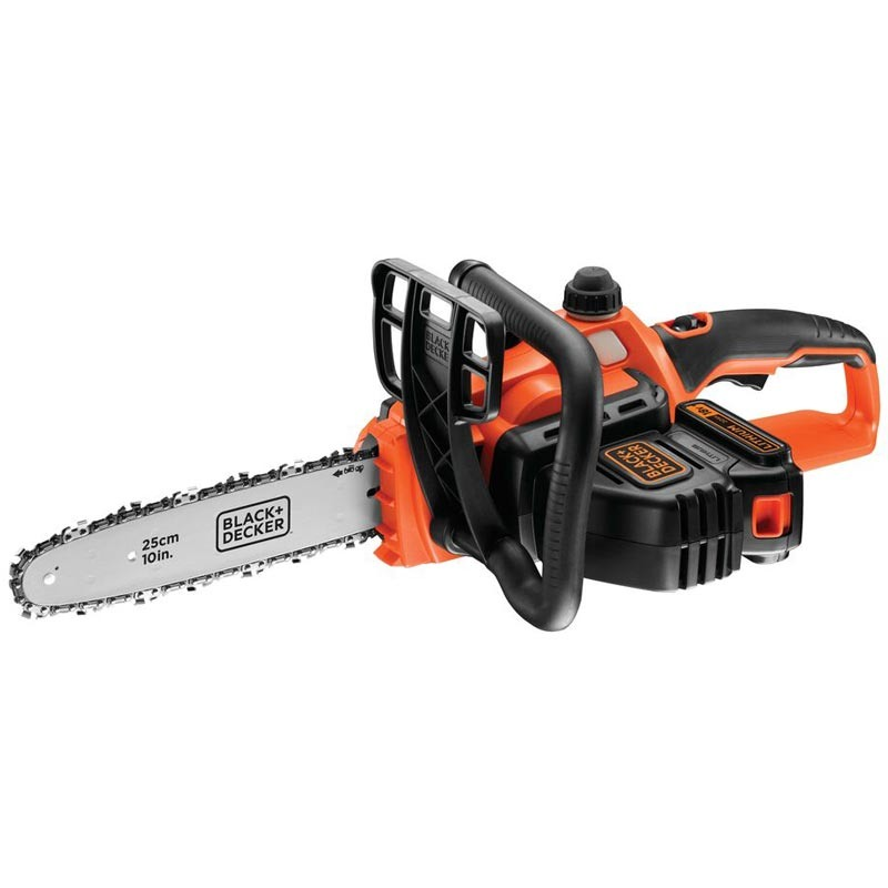 Ferastrau Black+Decker GKC1825L20 cu lant cu acumulatori 18V 2.0Ah 25cm