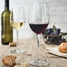 Set 2 pahare vin rosu Bormioli Galileo 385 ml