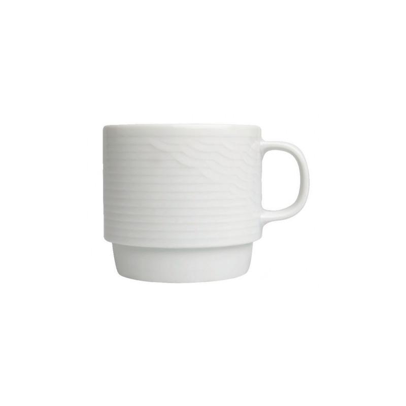 Ceasca ceai portelan suprapozabila Ionia Ikaros 210 ml