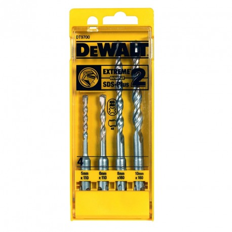 Set burghie SDS DeWALT DT9700 Plus Extreme 2  5, 6, 8, 10mm