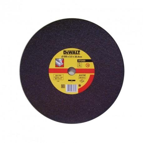 Disc debitat metal 3x25.4x355 Dewalt - DT3450