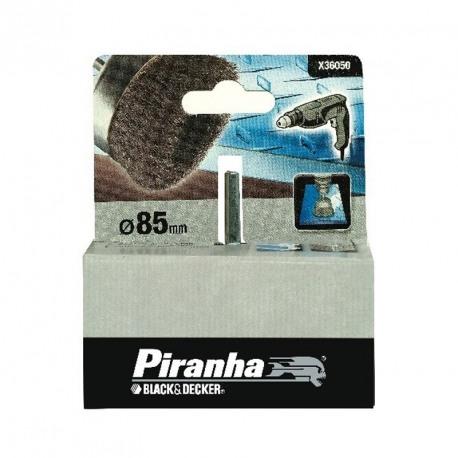 """Perie sarma """"oala"""" - masina de gaurit Black+Decker 85 mm - X36050"""