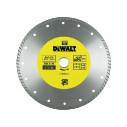 Disc diamantat Turbo 2.2x22.2x125mm DeWalt - DT3712