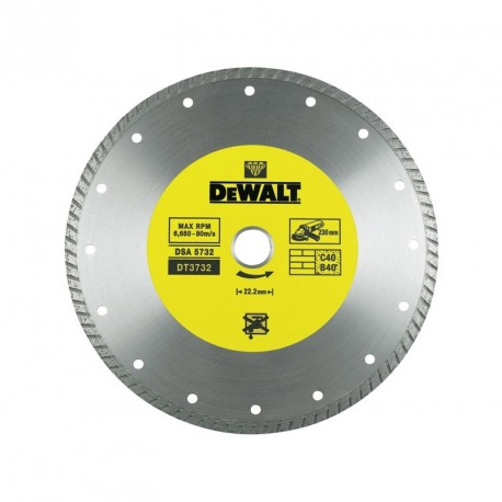 Disc diamantat Turbo 2.2x22.2x125mm DeWalt - DT3712