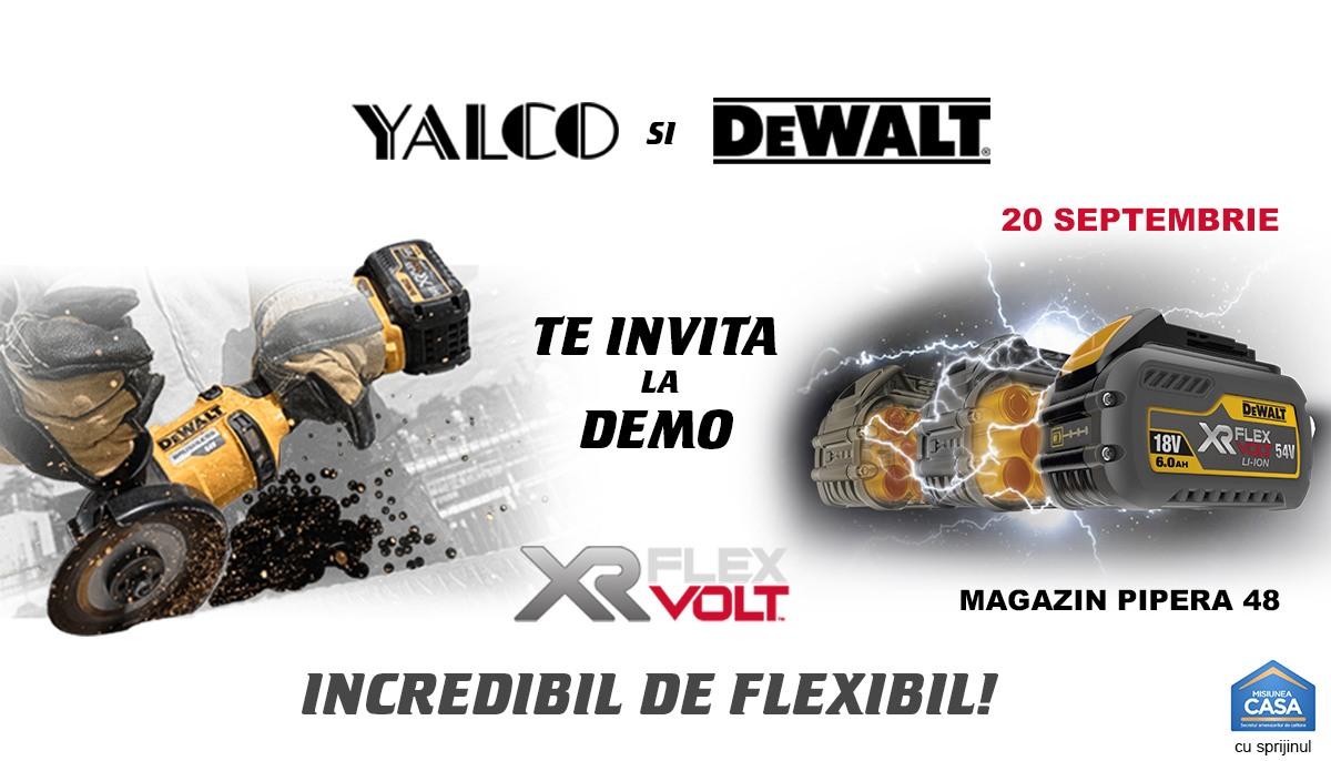 "Vino pe 20 septembrie la Yalco si afla cum poti lucra ""Incredibil de flexibil"""