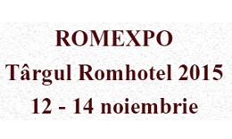 Romexpo - Târgul Romhotel 2015