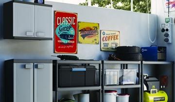 Reorganizarea garajului primavara